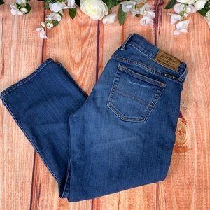 Lucky Brand Sweet 'N Crop Light Wash Jeans J176